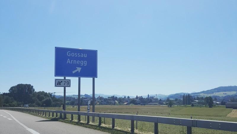 Nach 120 km: sind wir denn schon da? Ach ne, nach Gosau wollen wir...