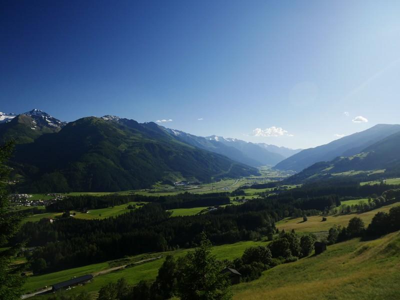 Bergpanorama am Rand des Nationalpark Hohe Tauern.