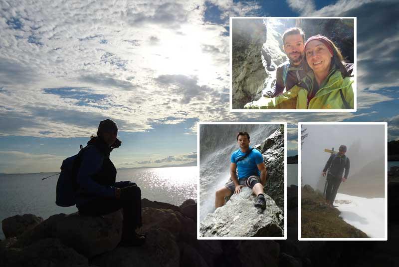 Sandra und Joachim - Ammergauer Alpen