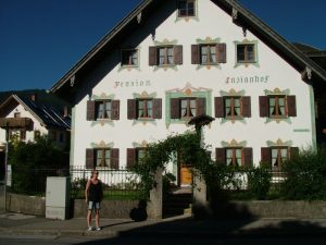 Pension Enzianhof in Oberammergau - Unser Domizil