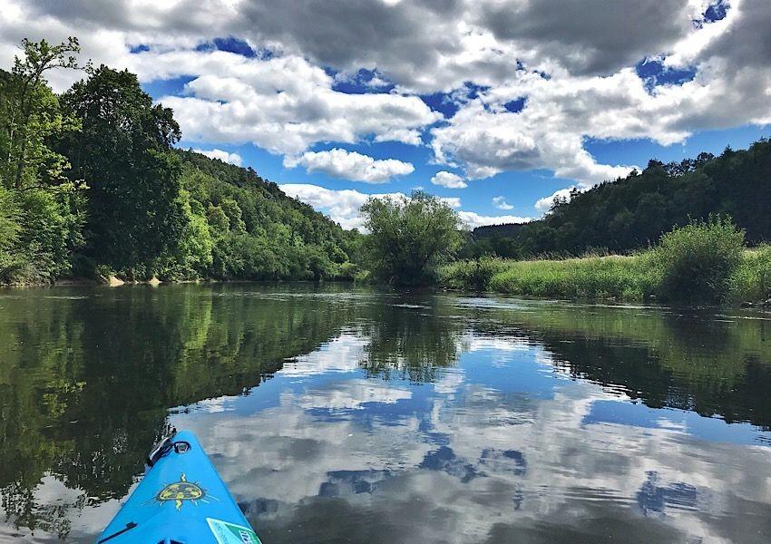 Die Donau im Kajak entdecken