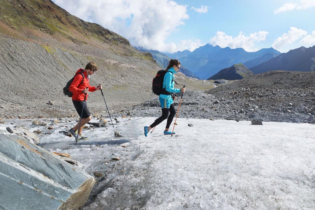 Spikes für mehr Sicherheit beim Bergwandern
