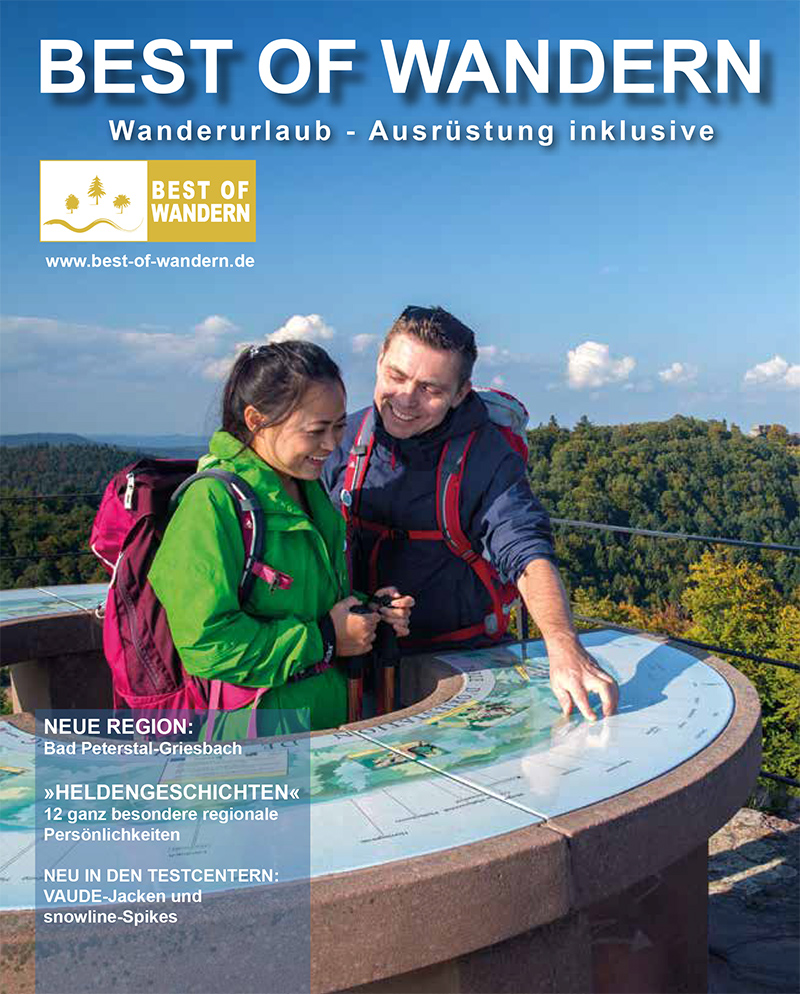 Best of Wandern Magazin 2018