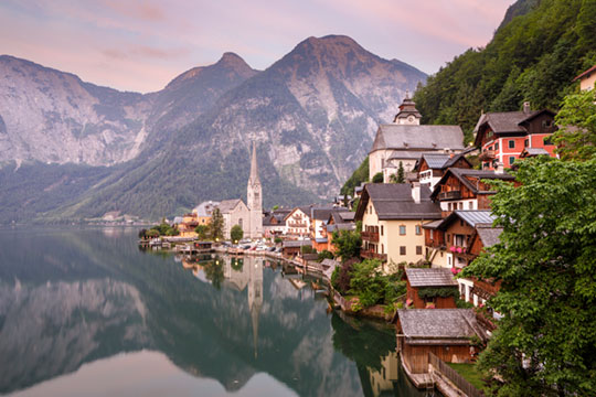 Hallstatt Morgenstunde Foto Julian Elliott Photography